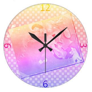 Innocent Days Large Clock