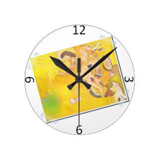 Innocent Days Round Clock