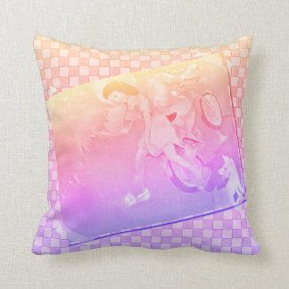 Innocent Days Throw Pillow