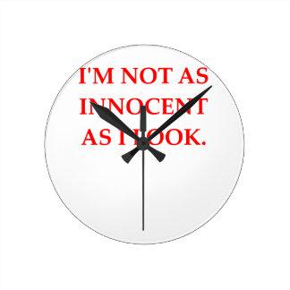 INNOCENT ROUND CLOCK