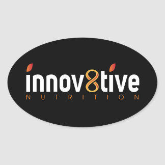 Innov8tive Nutrition Oval Sticker