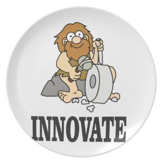 innovation caveman plate