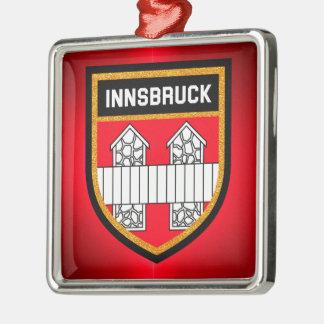 Innsbruck Flag Metal Ornament