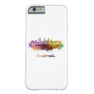 Innsbruck skyline in watercolor barely there iPhone 6 case