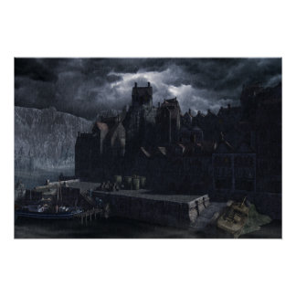 Innsmouth Harbour Poster