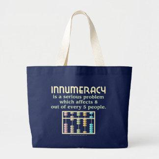 Innumeracy Large Tote Bag