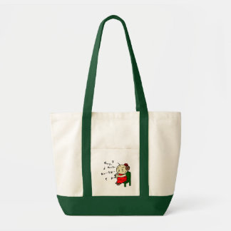 inparusutotokante child red tote bag