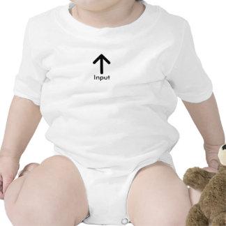 Input & Output Baby Tee Shirt