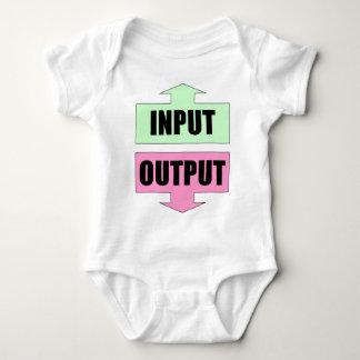 Input_Output_Green_Pink Tee Shirts