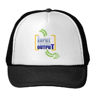 Input Putput Output.png Trucker Hat