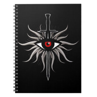 Inquisition Symbol Notebooks