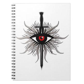 Inquisition Symbol Spiral Notebook