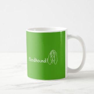 Inquisitive Bloodhound Coffee Mug