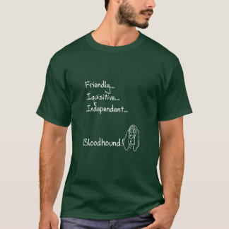 Inquisitive Bloodhound T-Shirt