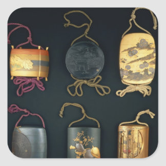 Inro Cases, 19th century Sticker