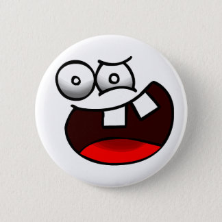 Insane Face Badge 2 Inch Round Button