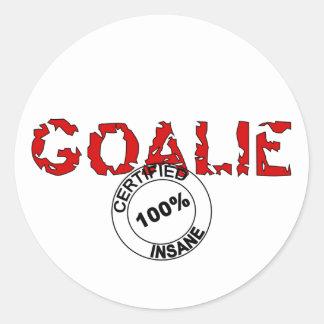Insane Goalie Sticker
