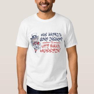 Insane Hussein shirt