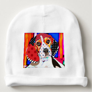 Insane person for Beagle Baby Beanie
