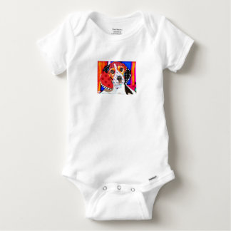 Insane person for Beagle Baby Onesie