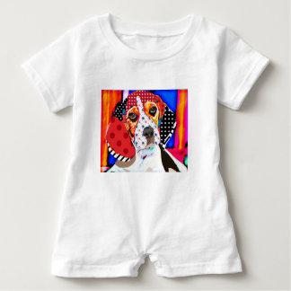 Insane person for Beagle Baby Romper