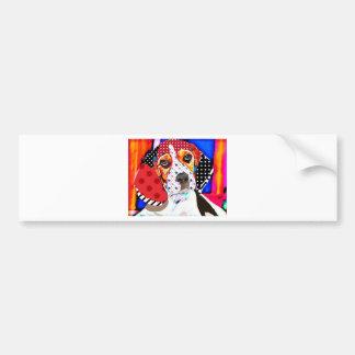 Insane person for Beagle Bumper Sticker