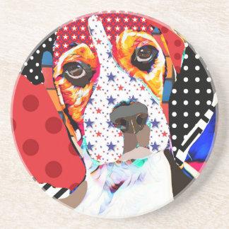 Insane person for Beagle Coaster