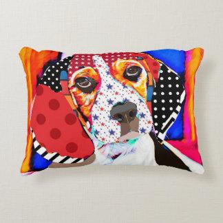 Insane person for Beagle Decorative Pillow