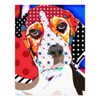 Insane person for Beagle Letterhead