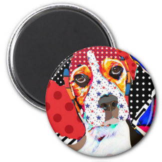 Insane person for Beagle Magnet