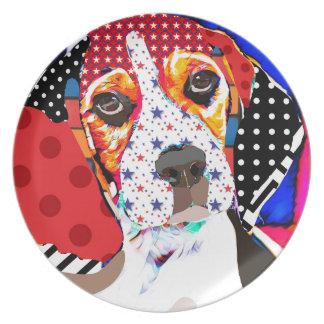 Insane person for Beagle Plate