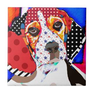 Insane person for Beagle Tile