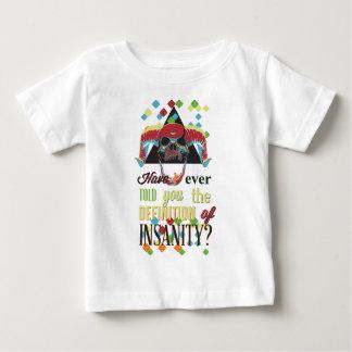 insanity and scary skull baby T-Shirt