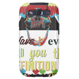 insanity and scary skull galaxy s3 covers