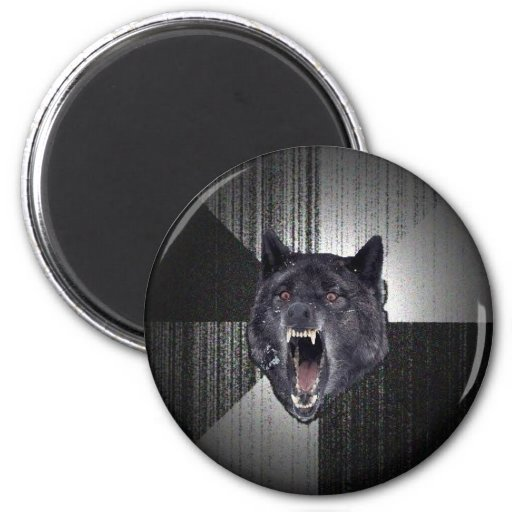 Insanity Wolf Magnets