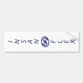 Insanoflex Vertical Bumper Sticker