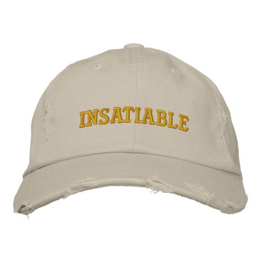 Insatiable Embroidered Hats