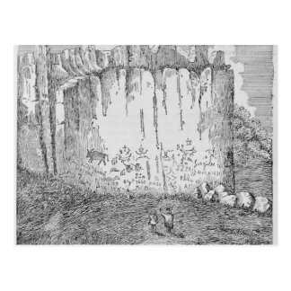 Inscription Rock, near the Pueblo of Zuni Postcard