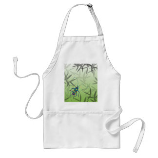 Insect Bamboo leaves Green Unique Pattern Standard Apron