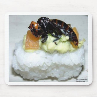 Insect Bee Sushi Gifts Tees Collectibles Mouse Pad