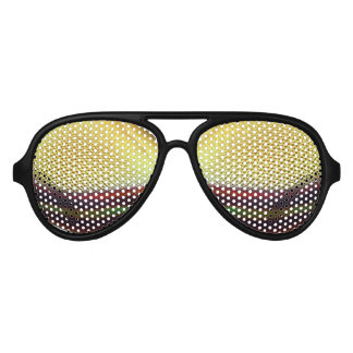 Insect Eyes Aviator Sunglasses