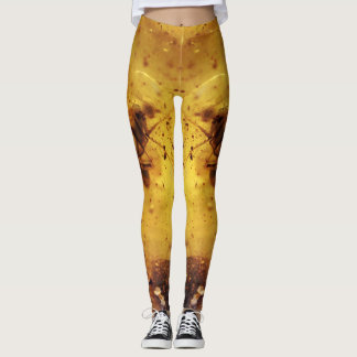 Insect in amber | leggings