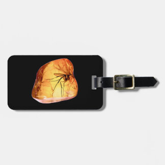 Insect in amber | luggage tag