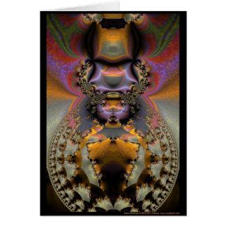 Insect Mandala Card