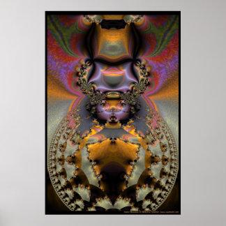 Insect Mandala Poster