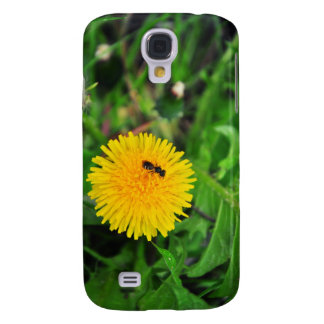 Insect on a dandelion galaxy s4 cases