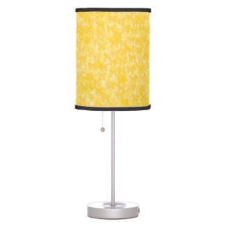 Insect Yellow Butterflies Table Lamp