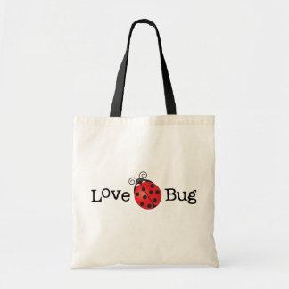 Insecte d amour - coccinelle sac de toile