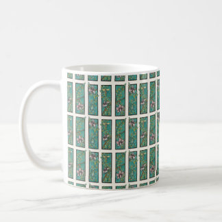 Insects among the lilies coffee mug