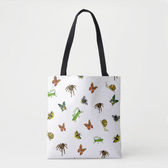 Insects Galore Tote Bag